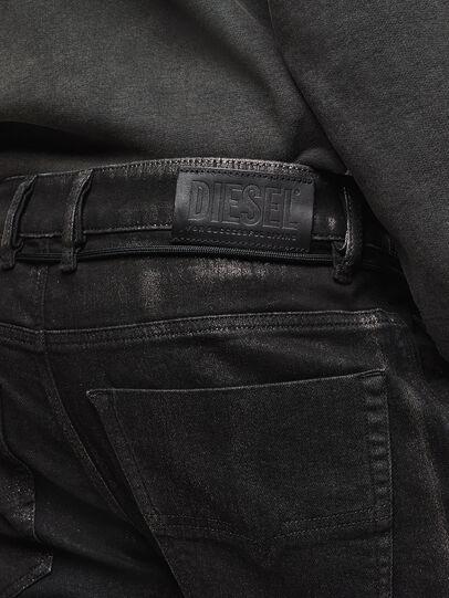 Diesel - D-Luhic JoggJeans 0092W, Noir/Gris foncé - Jeans - Image 5