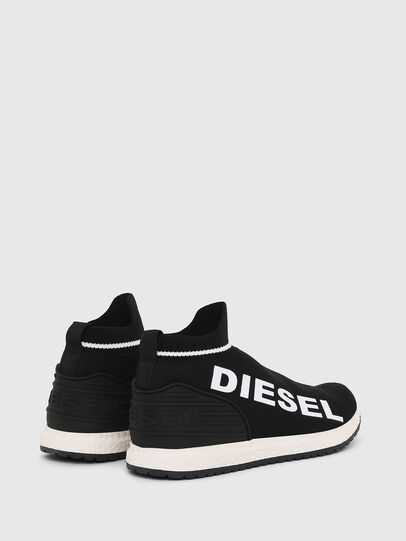 Diesel - SLIP ON 03 LOW SOCK, Noir - Footwear - Image 2