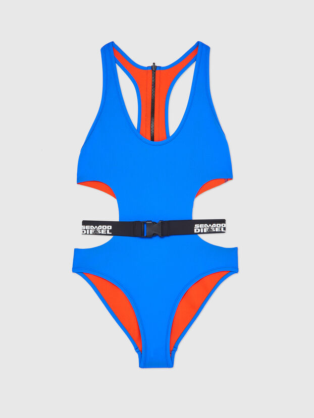 BFSW-DIVERDOO, Bleu/Orange - Maillots de Bain