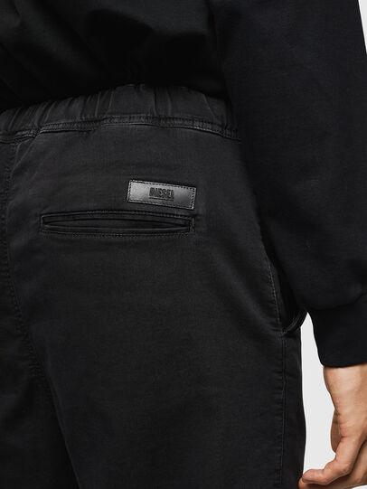 Diesel - D-Toller JoggJeans 0687Z, Noir/Gris foncé - Jeans - Image 5