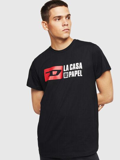 Diesel - LCP-T-DIEGO-CASA, Noir - T-Shirts - Image 1