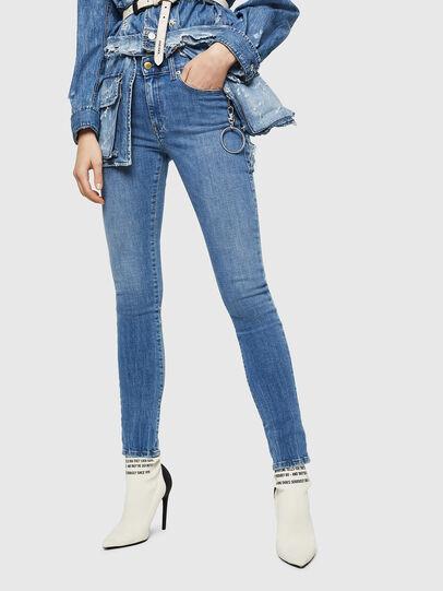 Diesel - D-Roisin 0890H, Bleu Clair - Jeans - Image 4
