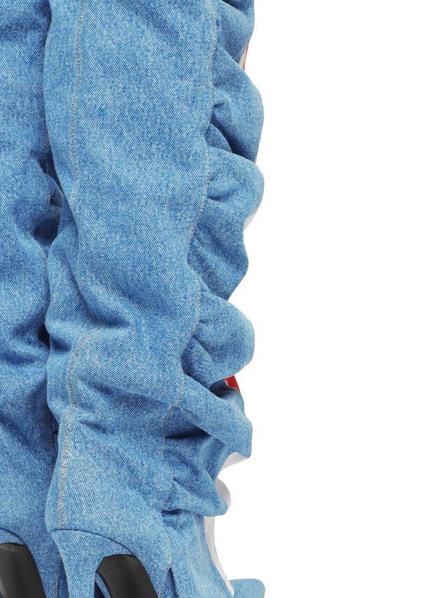 Diesel - SOHIGHBOOT, Bleu Clair - Bottes - Image 5