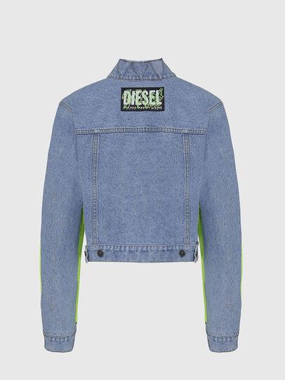 Diesel - G-DANIEL, Bleu/Vert - Vestes - Image 2
