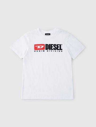 Diesel - TJUSTDIVISION, Blanc - T-shirts et Hauts - Image 1