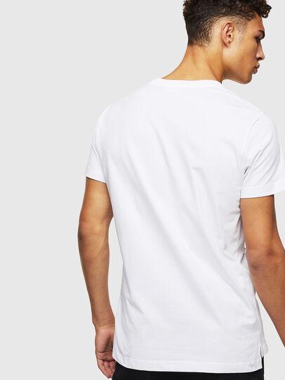 Diesel - T-RUBIN-POCKET-J1, Blanc - T-Shirts - Image 2