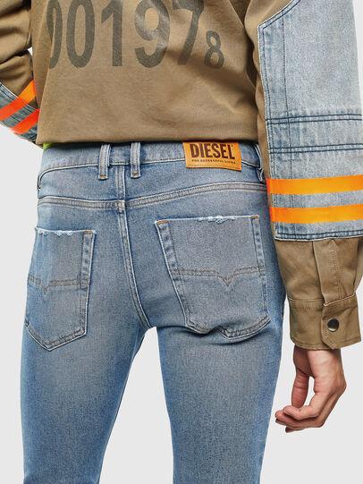 Diesel - Tepphar 0096Y, Bleu Clair - Jeans - Image 4