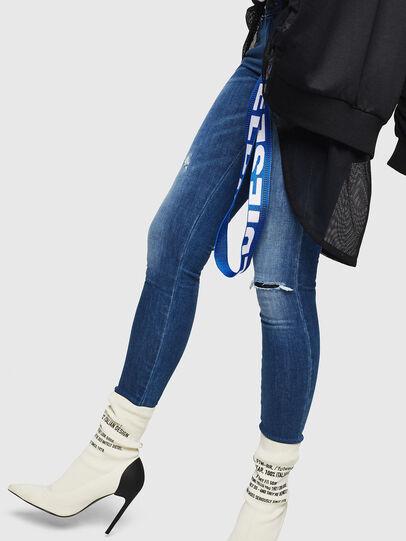 Diesel - Slandy Low 089AI, Bleu moyen - Jeans - Image 5