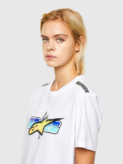Diesel - ASTARS-T-DIEGOS-B-FL, Blanc - T-Shirts - Image 5