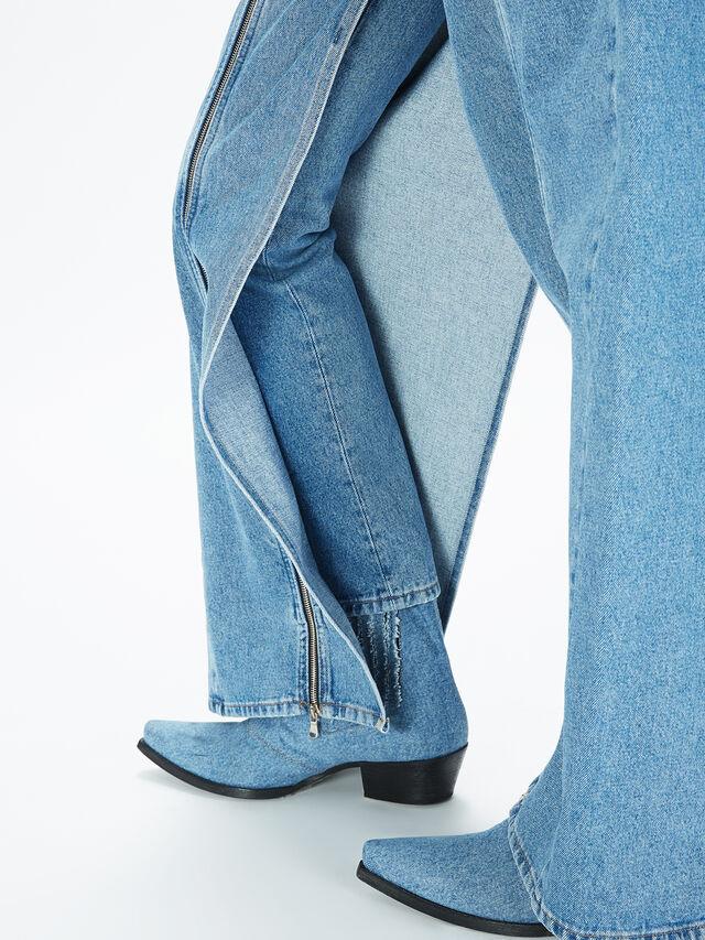 Diesel - SOWL01, Bleu Clair - Pantalons - Image 5