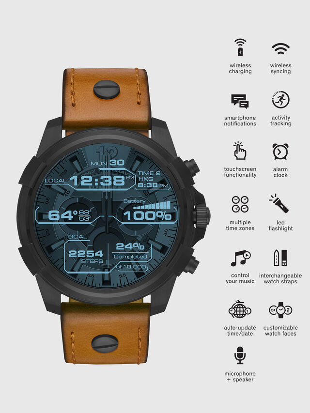 Diesel - DT2002, Marron - Smartwatches - Image 1
