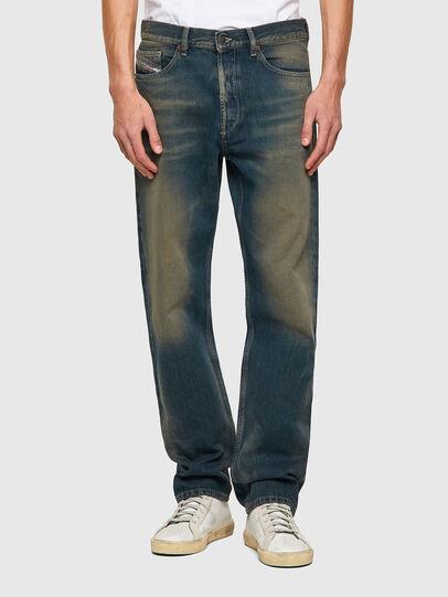 Diesel - D-Macs 009VK, Bleu/Vert - Jeans - Image 1