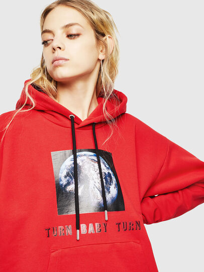 Diesel - S-ALBY-YA, Rouge - Pull Cotton - Image 6