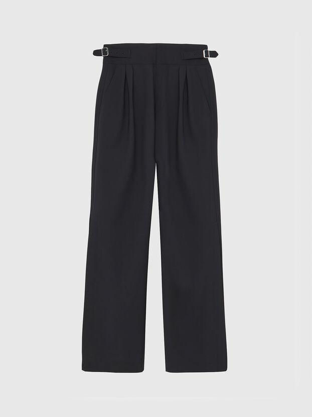 P-LOCO, Noir - Pantalons