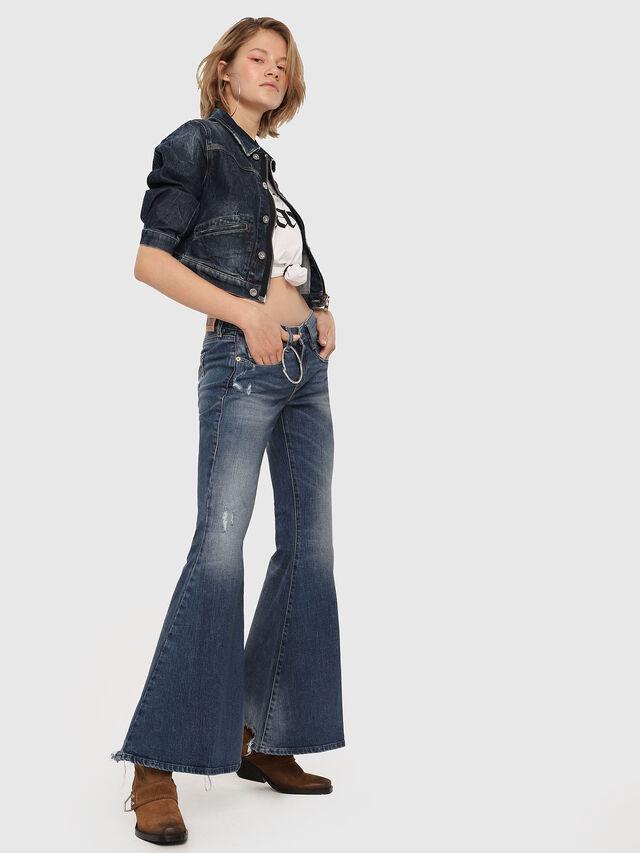 Diesel - D-Ferenz 081AN, Bleu moyen - Jeans - Image 4