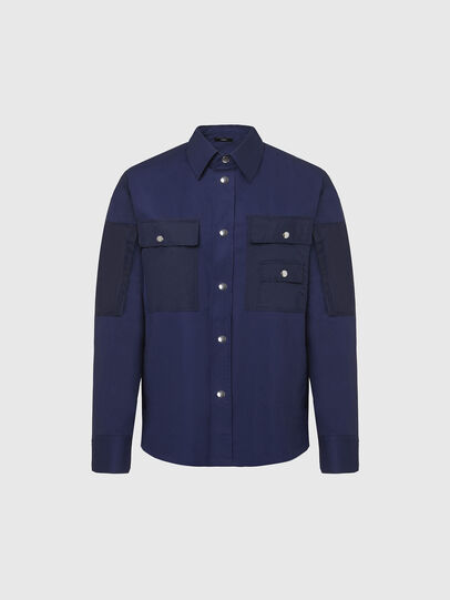 Diesel - S-AUSTIN, Bleu - Chemises - Image 1