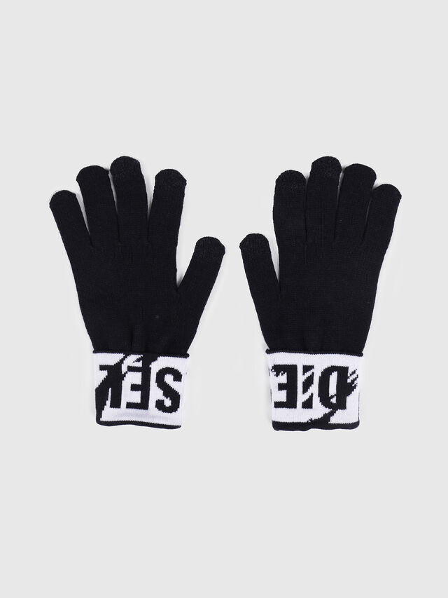 Diesel - K-SCREEX, Noir/Blanc - Bérets, chapeaux et gants - Image 1