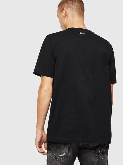 Diesel - T-JUST-J13, Noir - T-Shirts - Image 2
