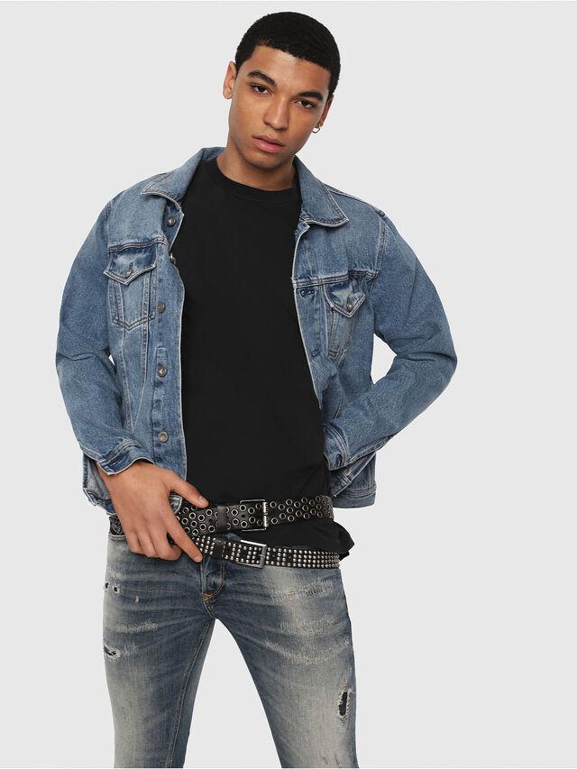 Diesel - Sleenker 069DK, Bleu moyen - Jeans - Image 3