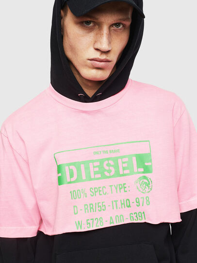 Diesel - T-CROPPY, Rose - T-Shirts - Image 7