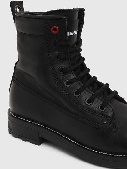 Diesel - D-THROUPER DBB W Z, Noir - Bottines - Image 4