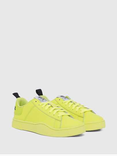 Diesel - S-CLEVER LOW LACE W, Jaune Fluo - Baskets - Image 2