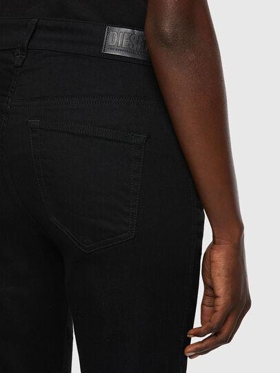Diesel - Slandy High 069EF, Noir/Gris foncé - Jeans - Image 4