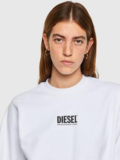 Diesel - F-ANG-SMALLOGO, Blanc - Pull Cotton - Image 3