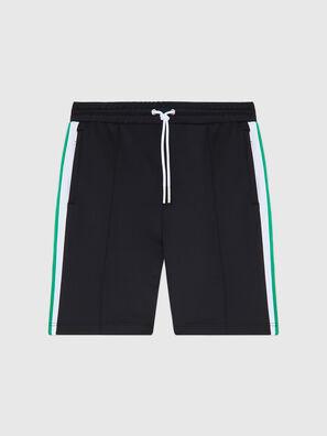 P-KURL, Noir - Shorts