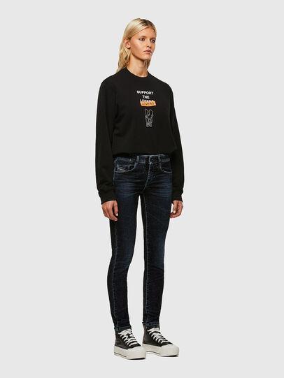 Diesel - D-Ollies JoggJeans® 069UH, Noir/Gris foncé - Jeans - Image 5