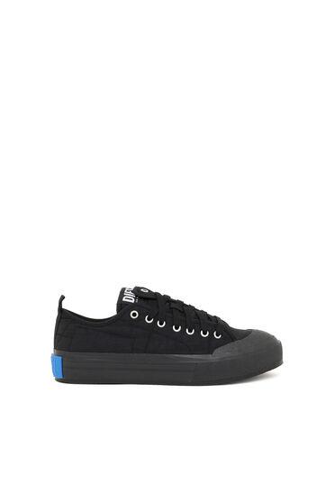 Sneakers basses asymétriques en nylon
