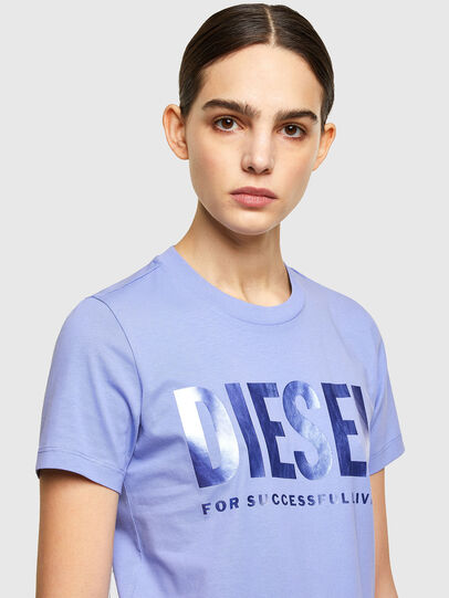 Diesel - T-SILY-WX, Lilas - T-Shirts - Image 3