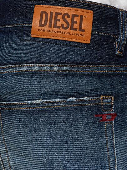 Diesel - D-Vider 0092I, Bleu Foncé - Jeans - Image 4