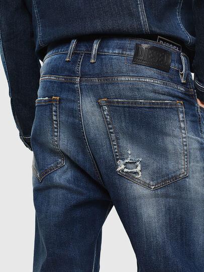 Diesel - D-Vider 0090G, Bleu Foncé - Jeans - Image 5