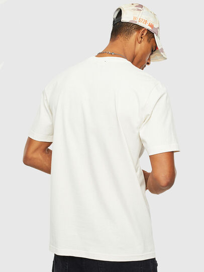 Diesel - T-JUST-T14, Blanc - T-Shirts - Image 2