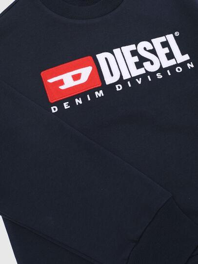 Diesel - SCREWDIVISION OVER, Bleu Marine - Pull Cotton - Image 3