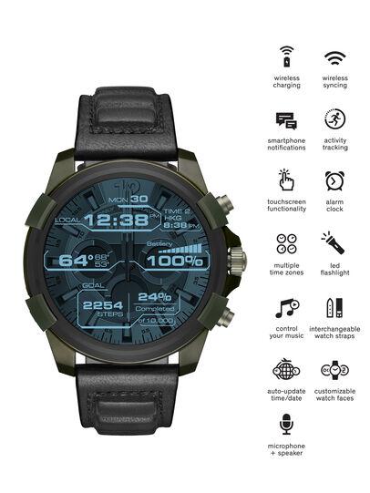 Diesel - DT2003, Vert Militaire - Smartwatches - Image 1