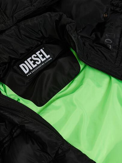 Diesel - W-RUSSELL-LONG, Noir - Vestes d'hiver - Image 8