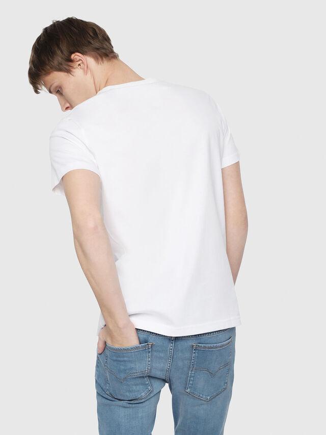 Diesel - T-DIEGO-YB, Blanc - T-Shirts - Image 2