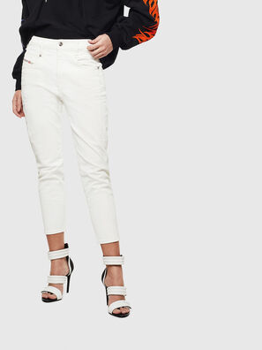 Fayza 009AY, Blanc - Jeans