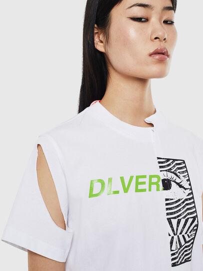 Diesel - T-GOMEZ, Blanc - T-Shirts - Image 3