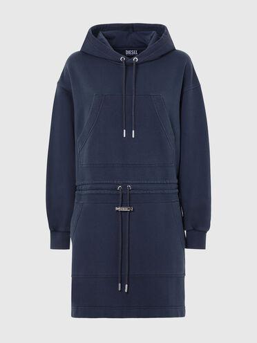 Robe à capuche avec double poche
