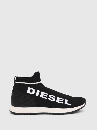 Diesel - SLIP ON 03 LOW SOCK, Noir - Footwear - Image 1