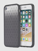 MOHICAN HEAD DOTS BLACK IPHONE 8/7/6s/6 CASE, Noir - Coques