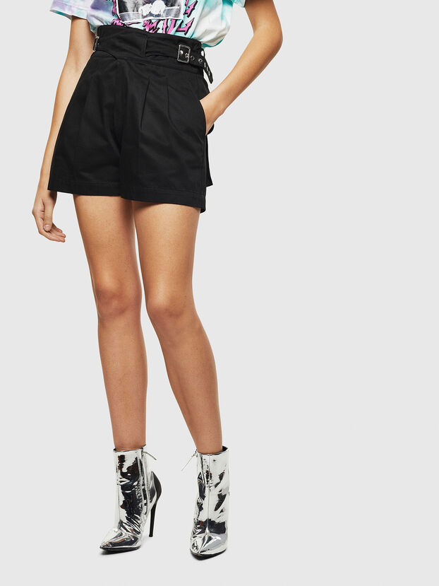S-BISA, Noir - Shorts