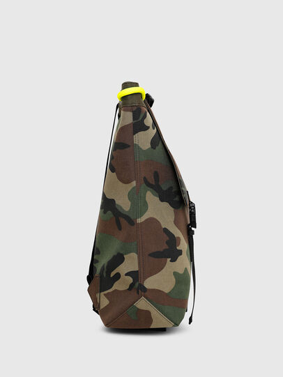 Diesel - VOLPAGO BACK, Vert Camouflage - Sacs à dos - Image 3