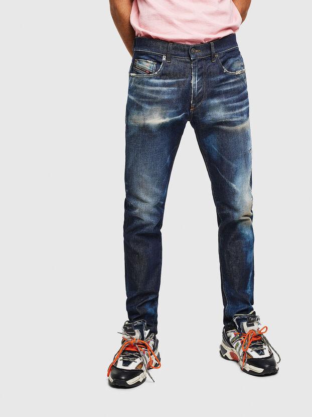 D-Strukt 009BH, Bleu Foncé - Jeans