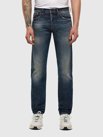 Diesel - D-Kras 009EW, Bleu Foncé - Jeans - Image 1