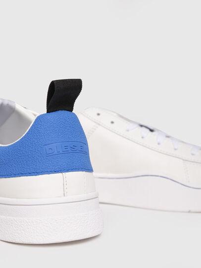 Diesel - S-CLEVER LOW, Blanc/Bleu - Baskets - Image 4
