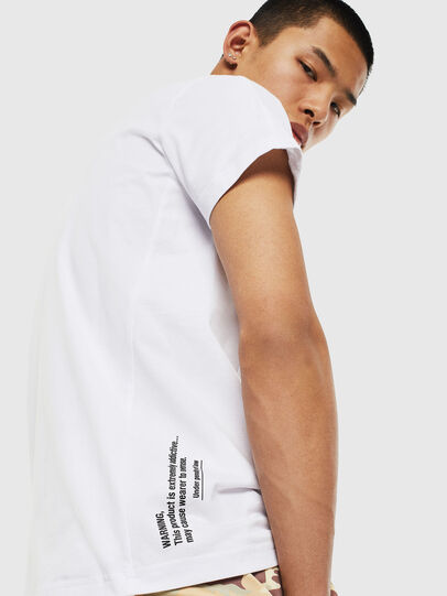 Diesel - T-HOVER, Blanc - T-Shirts - Image 3